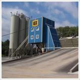 Горизонтальный бетонный завод